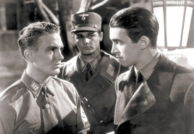 Grr! Evil Nazi Youth that want to beat up James Stewart! GRR!