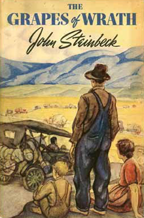 "For a short time, Steinbeck considered calling the novel, ""The Strawberries of Discord""..."
