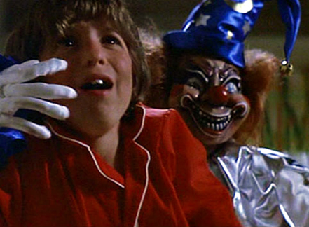You want your kids to be forever freaked out by clowns? Try Poltergeist.
