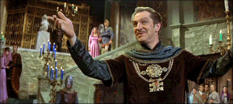 The Masque of the Red Death starring Vincent Price