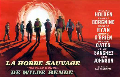 How's about you Pick a Wild Bunch o' Peckinpah?