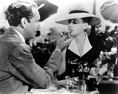 There's a 'light my smoke' scene in this one that had women asking this actor to light their smokes for years.