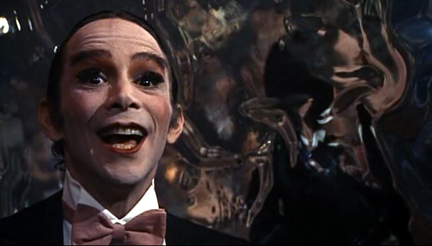 Joel Grey - one of the highlights of Cabaret