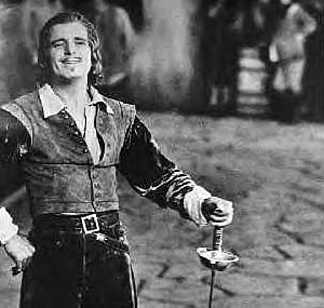Douglas Fairbanks also taught seminars in 'Dramatic Poses'.