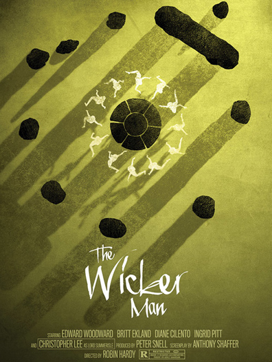 The Wicker Man's newest fan art poster...