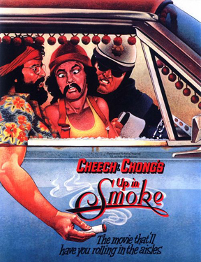 Imagine that look on Cheech's face right there, but on me for OVER HALF THE MOVIE